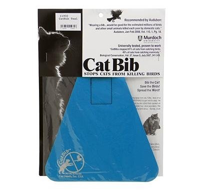 CatBib Keeps Feisty Felines From Decimating Wildlife