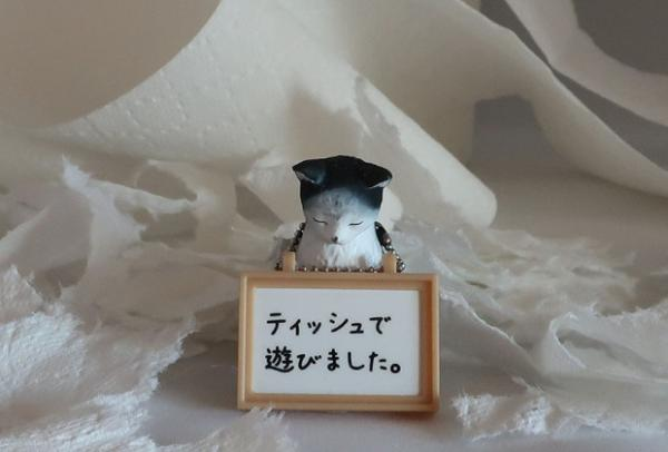Cat-Shaming Figurines