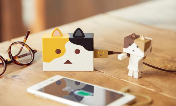 Nyanbo Mobile Battery Cutely Charges Your Devices