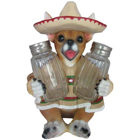 Chihuahua Salt and Pepper Shaker Set