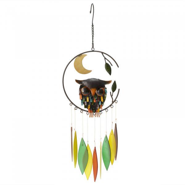 Spiky Owl Chimes