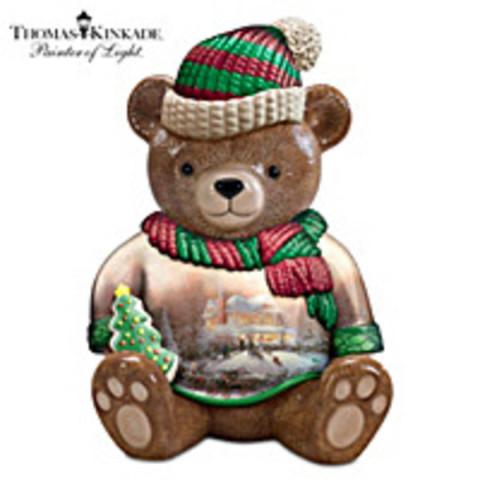 Thomas Kincade Sweet Memories Cookie Jar