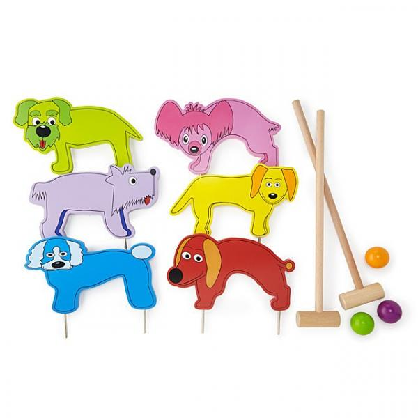 Doggy Croquet set