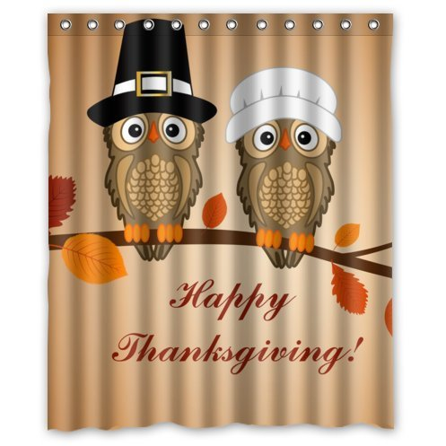 Thanksgiving Shower Curtain