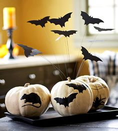 Flying Bats Centerpiece