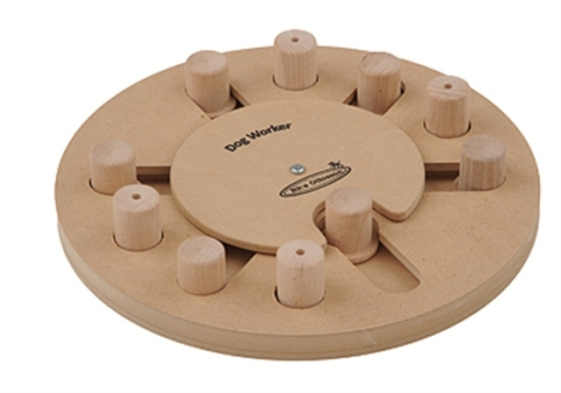 Worker Dog Wooden Puzzle Toy