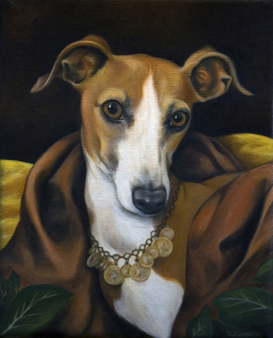 Dog Portrait by Petcasso (Public Domainn Image)