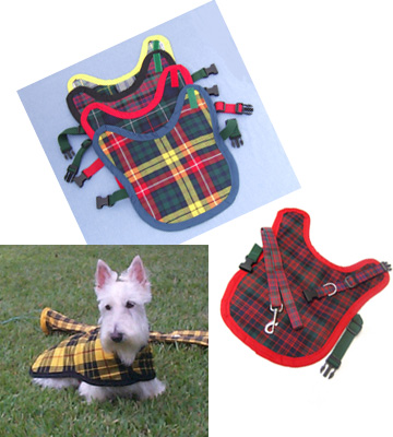 The Heelan' Hound Website Offers Authentic Scottish Clan Tartans for Dogs