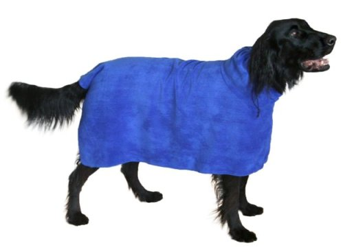 The Snuggly Dog Microfiber Bath Towel