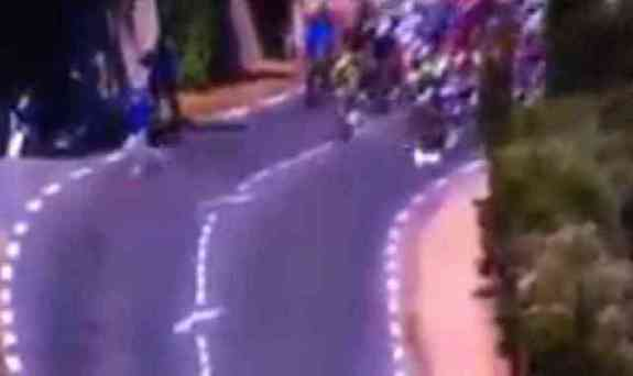 Dog Disrupts The Tour De France (You Tube Image)