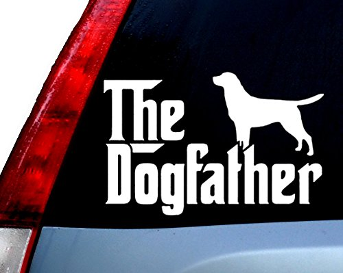 The Dogfather Car Decal