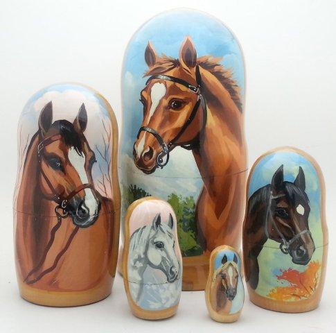 Horse Nesting Dolls