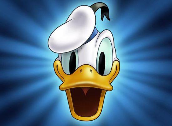 Kalle Anka/Donald Duck (Public Domain Image)