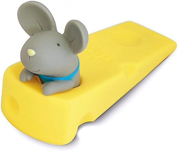 Mouse and Cheese Wedge Doorstop
