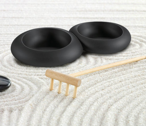 Pets' double bowl Ciottoli: © IMAC
