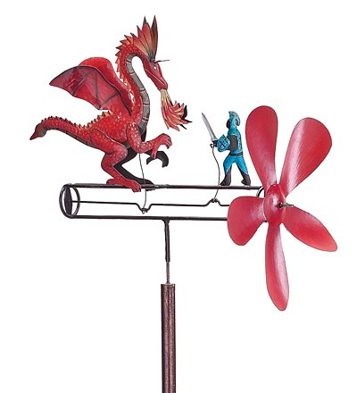 St. George the Dragon Slayer Whirligig