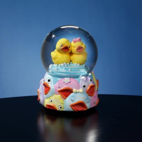 Rubber Ducky Water Globe