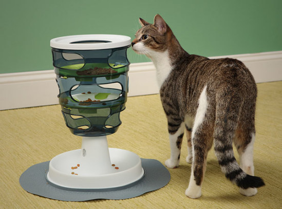 Catit Design Senses Food Maze: image via thinkgeek.com