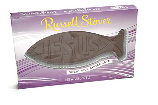 Easter Chocolate Jesus Fish