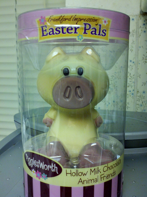 Easter Chocolate Pig