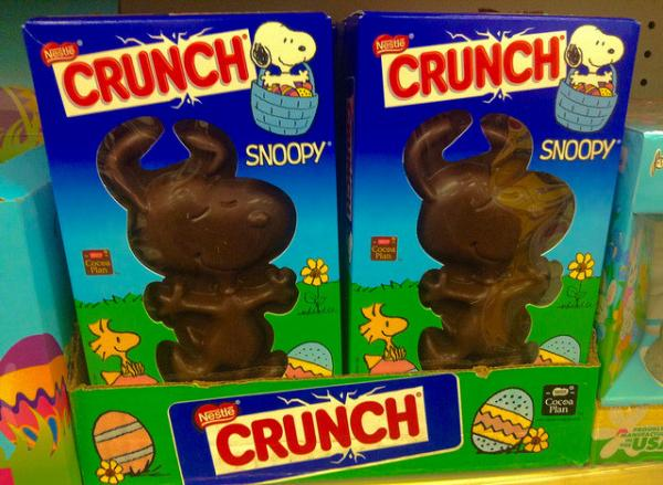 Easter Chocolate Snoopy