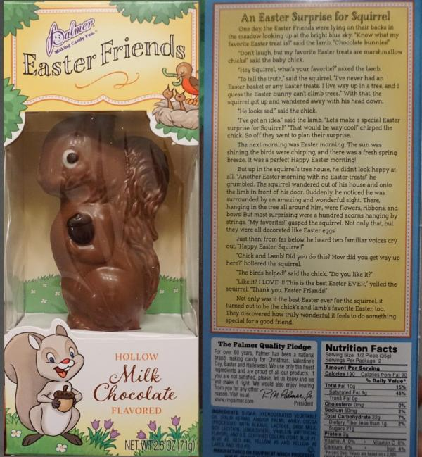 Easter Chocolate Squirrel