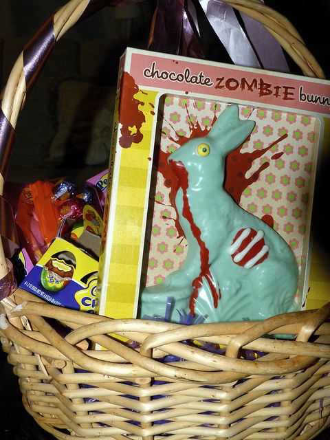 Easter Chocolate Zombie Rabbit