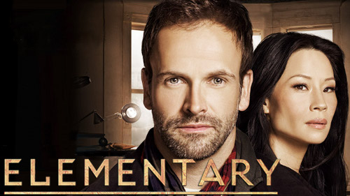Elementary on CBS starring Lucy Liu and Jonny Lee Miller: image via cbs.com