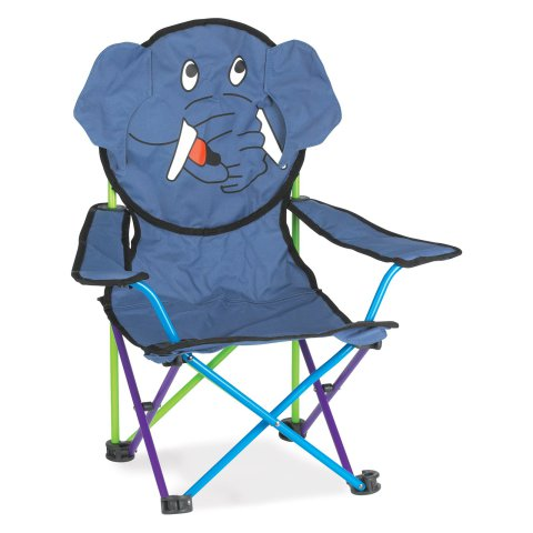 Super Fun Animal Folding Chairs - Ernest the Elephant