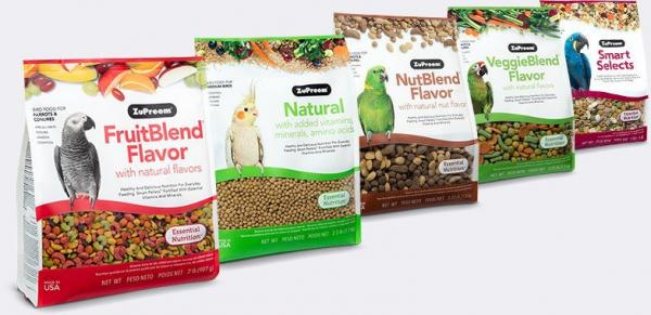 ZuPreem Essential Nutrition Food For Birds