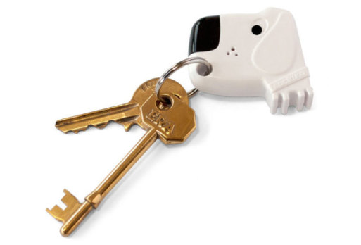 The Fetch My Keys key ring will help you sniff out your keys wherever they are