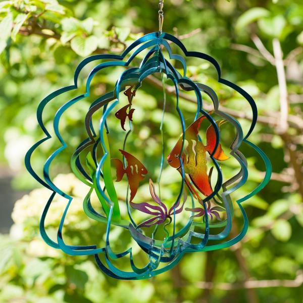 Tropical Fish Wind Spinner