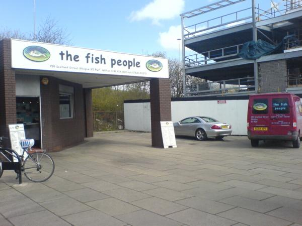 Humorously Named Fish & Chip Shop