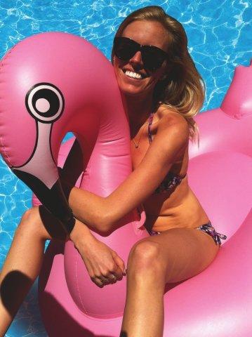 Giant Inflatable Flamingo