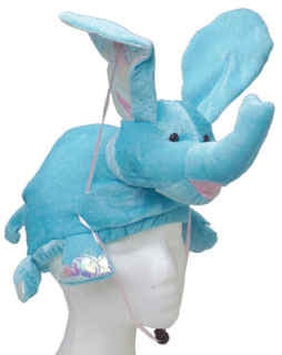 Flying Blue Elephant Hat
