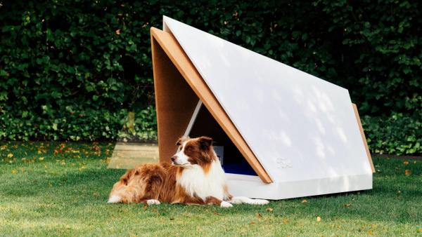 Ford's Noise-Cancelling Kennel Keeps Dogs Calm When Fireworks Fly