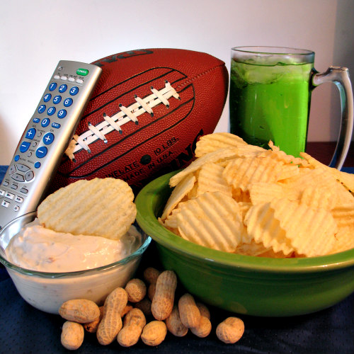Superbowl game day snacks