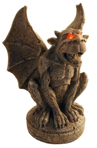 Large Creepy Halloween Gargoyles