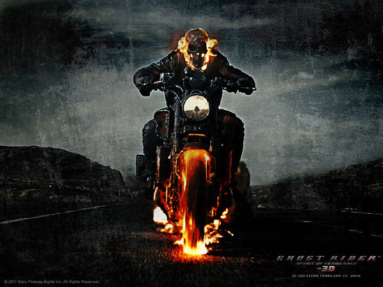 Ghost Rider Spirit of Vengeance: © Sony Pictures