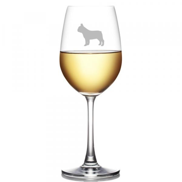 French Bulldog Dog Breed Glass
