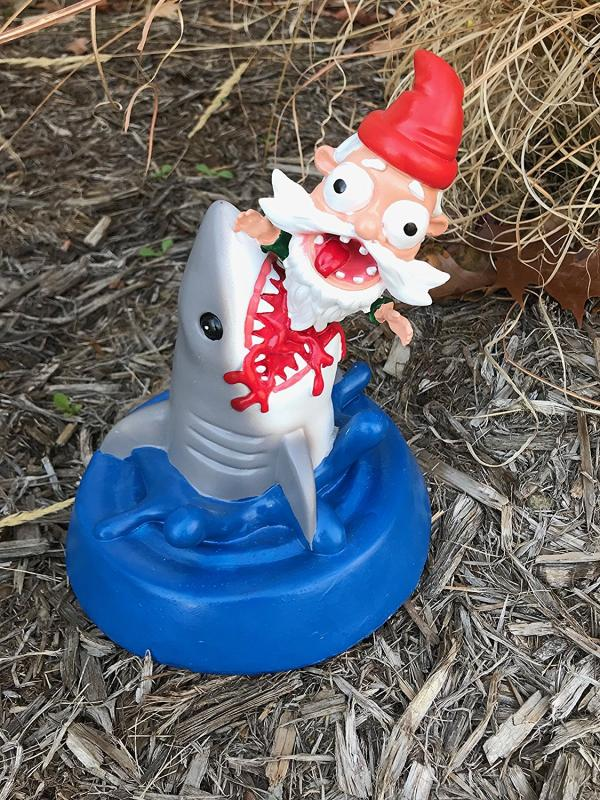 Gnome Shark Attack Statue