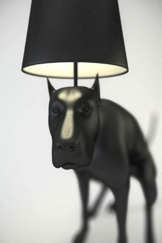Good Boy Sculpture Pooping Dog