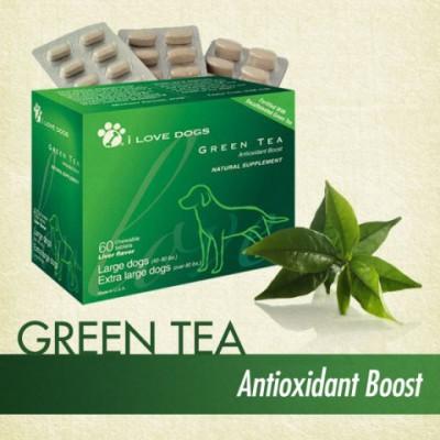 I Love Dogs Green Tea Antioxidant Boost