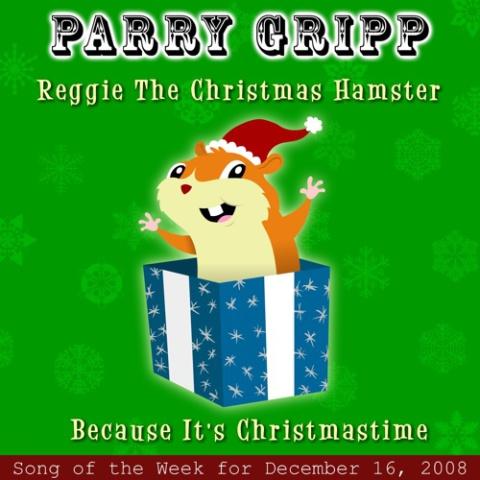 Reggie the Chrisitmas Hamster