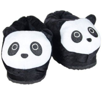 Panda Heated Slippers