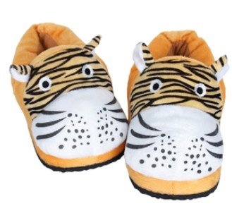 Tiger Heated Slippers