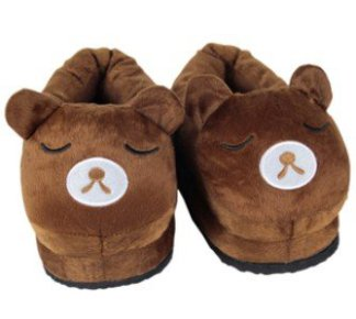 Bear Heated Slippers