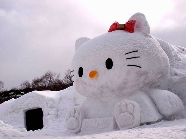 Snow manx the top snowman cats petslady