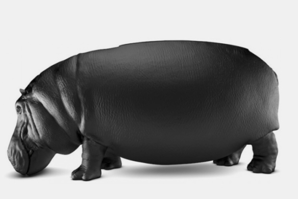 The Hippopotamus Chair by Maximo Riera (Image via Cool Things)