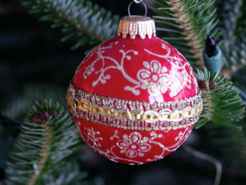 Holiday Ornaments & Pet Safety: Keep ornaments and tinsel out of reach of pets